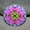 Rose Magnet Boho Chic Mandala New Age Sacred Geometry Kaleidoscope A Fanciful Fondness