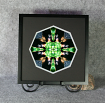 Bear Sacred Geometry Wall Decor Mandala Wall Art Magnanimous Framed