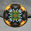 Bee Magnet Boho Chic Mandala New Age Sacred Geometry Kaleidoscope BEElieve
