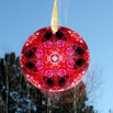 Rose Glass Suncatcher Kaleidoscope Mandala Geometric Be Mine