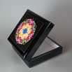 Dahlia Music Box Keepsake Box Boho Chic Mandala New Age Sacred Geometry Hippie Kaleidoscope Deepest Devotion