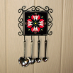 Hummingbird Utensil Rack Sacred Geometry Mandala Kaleidoscope Tiny Dancer