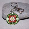 Butterfly Key Chain Sacred Geometry Mandala Summer Sensation