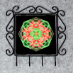 Lily Utensil Rack Sacred Geometry Mandala Kaleidoscope Blooming Inspiration