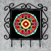 Butterfly Utensil Rack Sacred Geometry Mandala Kaleidoscope Summer Solace