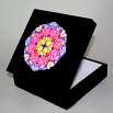 Rose Music Box Keepsake Box Boho Chic Mandala New Age Sacred Geometry Kaleidoscope A Fanciful Fondness