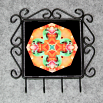 Frog Organizer Rack Jewelry Rack Key Rack Utensil Rack Boho Chic New Age Sacred Geometry Kaleidoscope Fortunate Finnegan