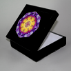 Pansy Music Box Keepsake Box Boho Chic Mandala New Age Sacred Geometry Hippie Kaleidoscope Endearing Memories