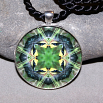 Goldfinch Pendant Mandala Sacred Geometry Kaleidoscope Ring Of Gold