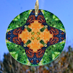 Monarch Butterfly Glass Suncatcher Home Decor Ornament Window Decor Mandala Meditation Zen Unique Gift For Her Yoga Gift 7