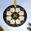 Daisy Glass Suncatcher Sacred Geometry Mandala Kaleidoscope Secret Desire