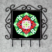 Butterfly Utensil Rack Sacred Geometry Mandala Kaleidoscope Summer Sensation