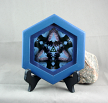 Loon Duck Fine Art Photography Sacred Geometry Kaleidoscope Framed Minnesota Majesty
