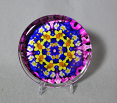 Daffodil Glass Paperweight Boho Chic Mandala New Age Sacred Geometry Kaleidoscope Unique Boss Gift Teacher Gift Coworker Gift Joyful Jonquils