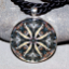 Walleye Pendant Mandala Sacred Geometry Kaleidoscope Willy Walleye