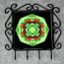 Butterfly Utensil Rack Sacred Geometry Mandala Kaleidoscope On a Wing and a Prayer