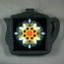 Sunflower Trivet Cast Iron Teapot Mandala Sacred Geometry Kaleidoscope Perpetual Hope