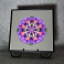 Bleeding Heart Chakra Mandala Kaleidoscope Fine Art Print With Mat Kaleidoscopic Nature Photography Flower Photograph Unique Wall Decor Thats Amore