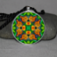 Monarch Butterfly Pendant Necklace Mandala Zen Sacred Geometry Kaleidoscopic Transcendence