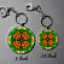 Keychain Monarch Butterfly Purse Charm Bag Charm Mandala Accessory Unique Gift Monarch Mania
