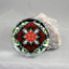 Monarch Butterfly Glass Paperweight geometric kaleidoscope mandala Beloved Psyche
