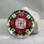 Monarch Butterfly Glass Paperweight kaleidoscope mandala Summer Sensation