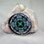 Nuthatch Bird Glass Ornament Kaleidoscope Mandala Geometric No Way Nuthatch