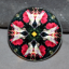 Hummingbird Magnet Glass Geometric Kaleidoscope Mandala Tiny Dancer